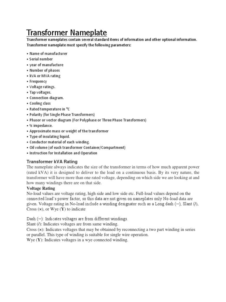 Transformer Nameplate | Transformer | Physics & Mathematics on 3 phase step down transformer, 3 phase voltage, single phase transformer diagram, 3 phase wye wiring, step up transformer diagram, 3 phase phasor diagram, electrical transformer diagram, auto transformer diagram, 3 phase pad-mounted transformer, 3 phase y diagram, 3 phase wiring schematic, 3 phase power metering 2 transformer, power pole transformer diagram, 3 phase transformer formulas, ct transformer connection diagram, 3 phase 480v distribution panel, current transformer diagram, transformer vector group diagram, 3 phase angle meter, 3 phase power diagram,