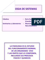 Clase 1- Homeostasis