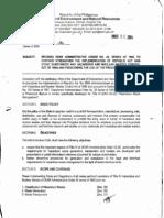 DAO 2004-36 Strengthening of RA 6969