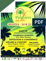 Dossier de Presse Palmiers en Fête à Régina