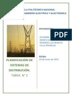 Trabajo Planificación de sistemas de distribución