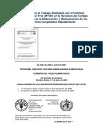 Informe Sobre El Trabajo Realizado Por El Instituto Internacional Del Frío