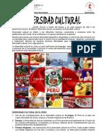 Ficha Informativa - Diversidad Cultural 1ro Sec