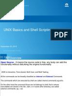 Unix Basics & Shell Scripting