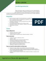 Ingeniería en Desarrollo Agroindustrialm