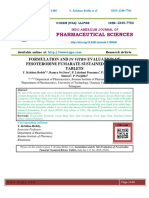 FORMULATION AND IN VITRO EVALUATION OF FESOTERODINE FUMARATE SUSTAINED RELEASE TABLETS