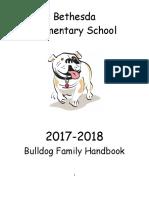 bethesda 2017-2018 family handbook lockard comments