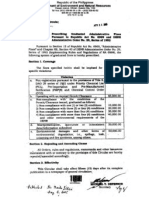 MC 2005-003 – Prescribing Graduated Administrative Fines Pursuant to RA 6969 and DAO 1992-29
