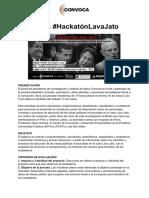 BASES Hackathón Convoca