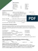 Delf a1 Ex de Revision