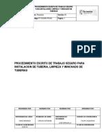 TF-SSOMA-PR-025 Procedimiento Para Instalacion Limpieza y Winchado de Tubería