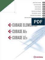 Cubase LE AI Elements 9 Quick Start Guide Espanol