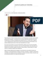 Gómez, John Freddy. Galindo, Camila Andrea. El Neoliberalismo Acecha La Justicia en Colombia
