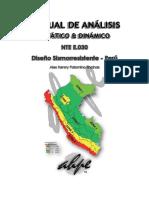 Manual de Análisis Estático y Dinámico según la NTE E.030 - 2016 [AHPE].docx