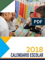 Calendario 22 Enero 2018 Preliminar