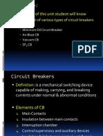 Unit 2 - Circuit Breaker - II