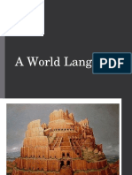 A World Language