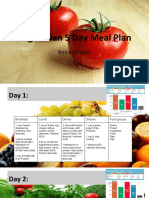 khiraldo 5 day meal plan