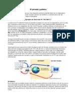 IP Privada e IP Publica