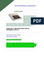 Metodología de Kendall y Kendall - Pressman -Investigacion de Implantacion