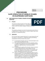 Procedure Checklist Suspended Slab