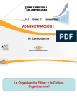 Sem 08-Adm i - La Organizacion Eficaz y La Cultura Organizacuonal