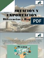 Carlos Luis Michel Fumero - Importación y Exportación, Diferencias y Requisitos