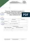 Protocolo de Distribucion de Materiales