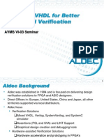 AVMSVI-03 - Enhanced VHDL for Better Design and Verification