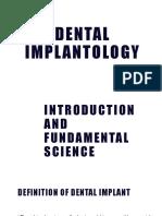 1 Dental Implantology