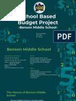 school based budget project-lockard