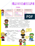Verb to Be Simple Present