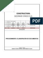 GTC-CAL-P01 Elaboración de Documentos