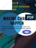 Making Change Happen - Lewisham Refugee and Migrant Network - 2018