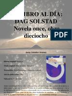 Javier Ceballos Jiménez - Un Libro Al Día, Dag Solstad, Novela Once, Obra Dieciocho