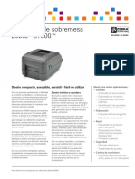 GT800 Datasheet Spanish EMEA