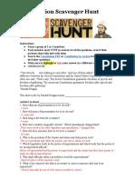 maritza mendoza - constititution scavenger hunt