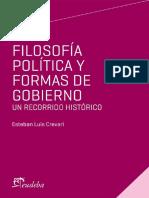 Filosofía política y las formas de gobierno