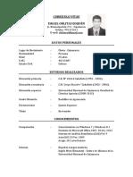 Currículum Vítae (2)