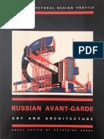 AD Russian Avant-Guarde