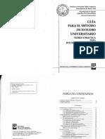 Rodriguez Quiroga - Guia Para El Metodo de Estudio Universitario