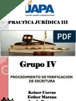 Tema IV Practica Juridica III Exposicion