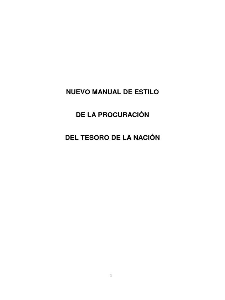 Nuevo Manual Estilo 2018.