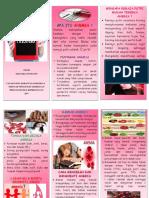 Leaflet Anemia Via