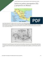 Proyectos Ferroviarios en Paises Emergentes- México