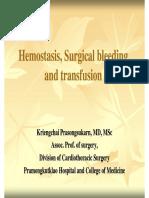 Dr.kriengchai - Hemostasis