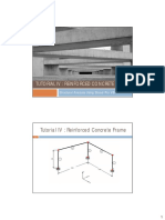 5. Tutorial IV Reinforced Concrete Frame