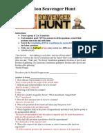 jimmy sanchez - constititution scavenger hunt