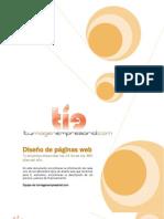 Diseño de páginas web, tuimagenempresarial.com