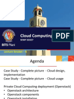 Cloud Computing - Session 8
